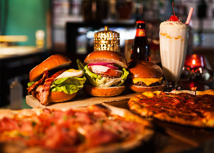 Hearts Burger och Pizza Brunch