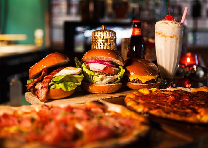 Hearts Burger och Pizza Brunch